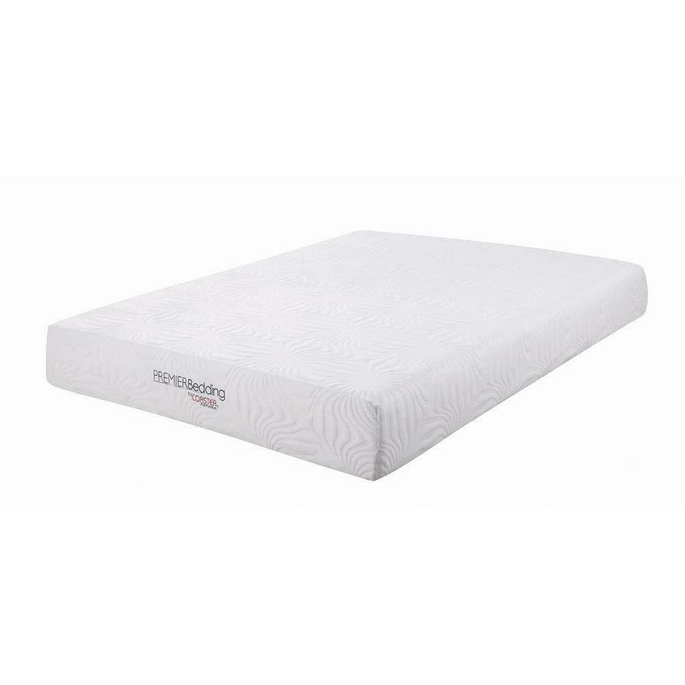 Key White 10-inch Twin XL Memory Foam Mattress