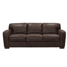 Bay Leather Loveseat