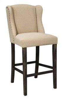 Tall Upholstered Barstool