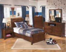 Delburne - Medium Brown 4 Piece Bedroom Set