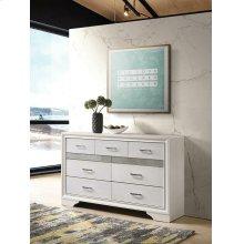 Miranda Modern Seven-drawer Dresser With Hidden Jewelry Tray