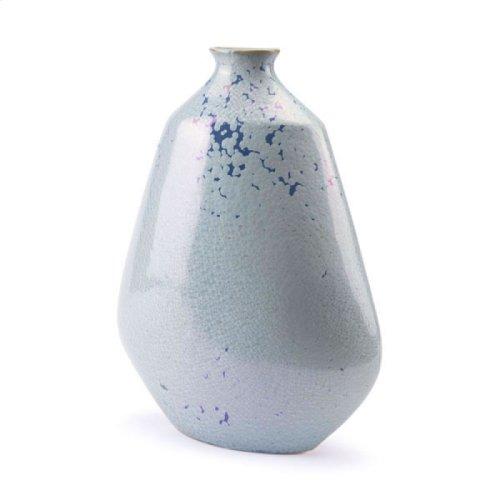Crystal Blue Short Bottle Blue