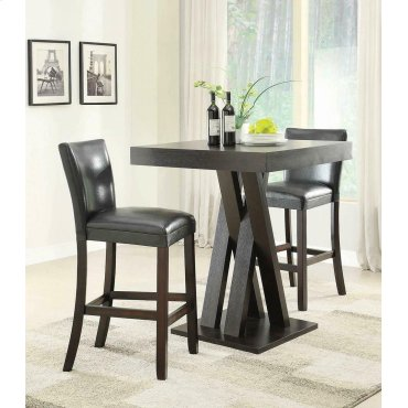 Modern Cappuccino Bar-height Stool