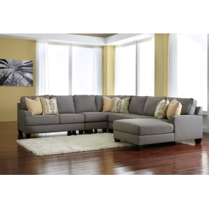 Ashley Furniture Chamberly - Alloy 5 Piece Sectional