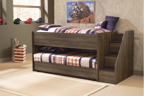Twin Loft Bed w/ Loft Caster Bed