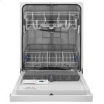 Whirlpool ENERGY STAR® certified dishwasher with Sensor cycle White