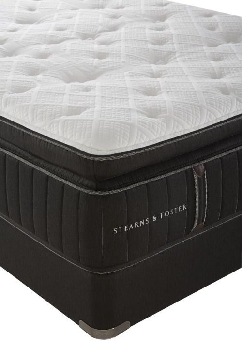 Lux Estate Collection - Baywood - Euro Pillow Top - Luxury Cushion Firm - King