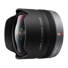 LUMIX G Fisheye Lens, 8mm, F3.5, Micro Four Thirds - H-F008