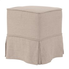 Universal Cube Linen Slub Natural - Skirted