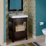 Portsmouth 24 Inch Washstand - Dark Chocolate