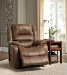 Yandel Power Lift Recliner - Saddle