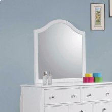 Dominique French Country White Mirror