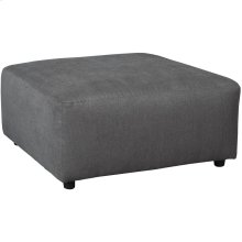 Signature Design by Ashley Jayceon Oversized Accent Ottoman in Steel Fabric