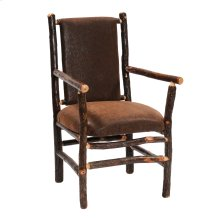 Hickory Upholstered Back Arm Chair - Standard Fabric