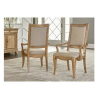 Ashby Woods Upholstered Back Arm Chair Product Image