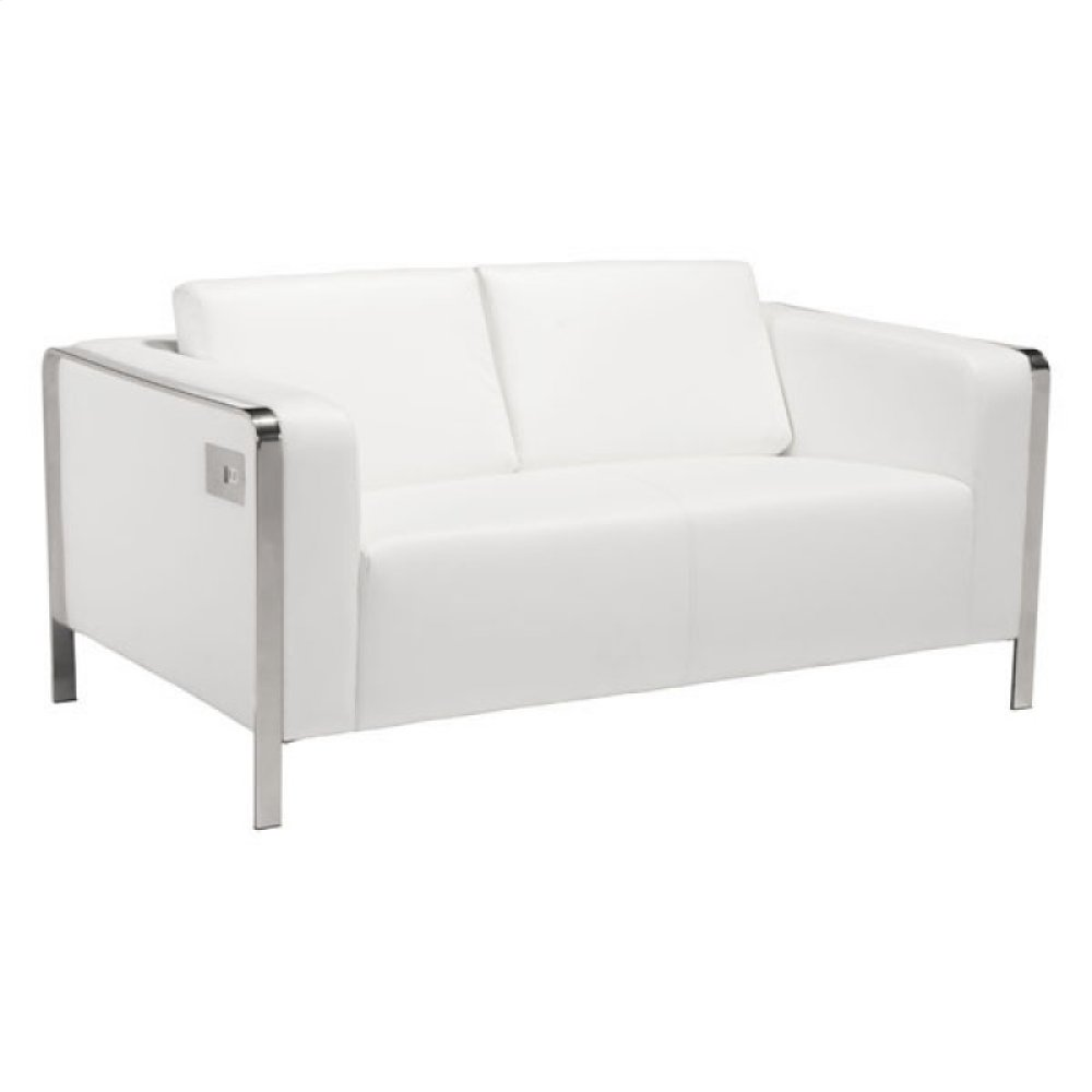 Thor Loveseat White