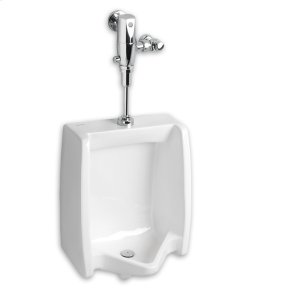 Washbrook 0.125 gpf Washout Top Spud Urinal Selectronic Exposed AC Flush Valve - White