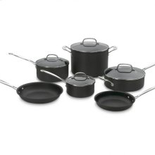 Chef's Classic Nonstick Hard Anodized 10 Piece Set