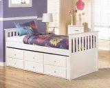 Lulu - White 4 Piece Bed Set (Twin) Product Image
