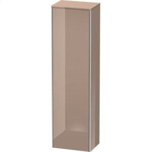 Tall Cabinet, Cappuccino High Gloss Lacquer