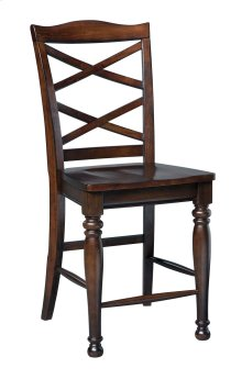 Porter - Rustic Brown Set Of 2 Dining Room Barstools