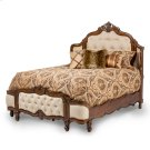 Cal King Wing Mansion Bed W/fabric Inserts Product Image