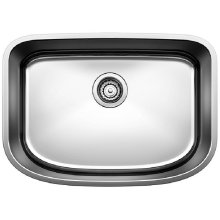 Blanco One Medium Single Bowl - Satin Polished Finish