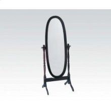 Wood Stnd Mirror Cherry
