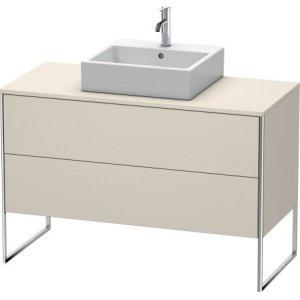 Vanity Unit For Console Floorstanding, Taupe Matt (decor)