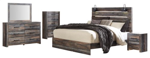 Drystan - Multi 3 Piece Bed Set (King)