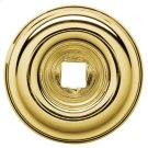 Polished Brass Knob Back Plate Product Image