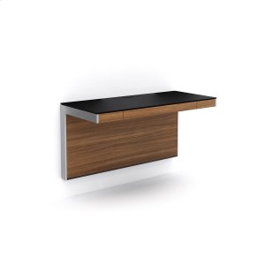 Bdi FurnitureWall Desk 6004 in Natural Walnut