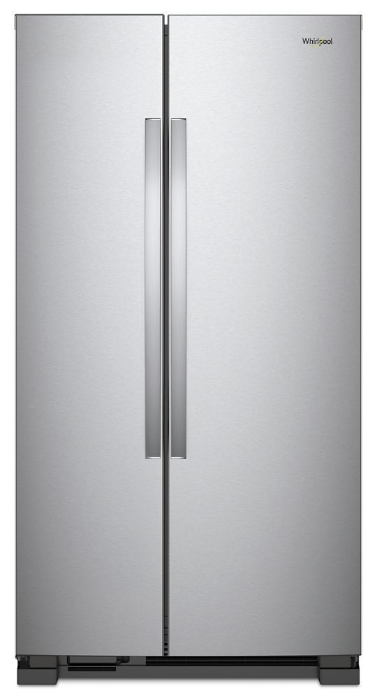 Whirlpool33-Inch Wide Side-By-Side Refrigerator - 22 Cu. Ft.