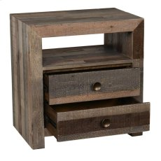 Omni 2Dwr Nightstand Storm Product Image