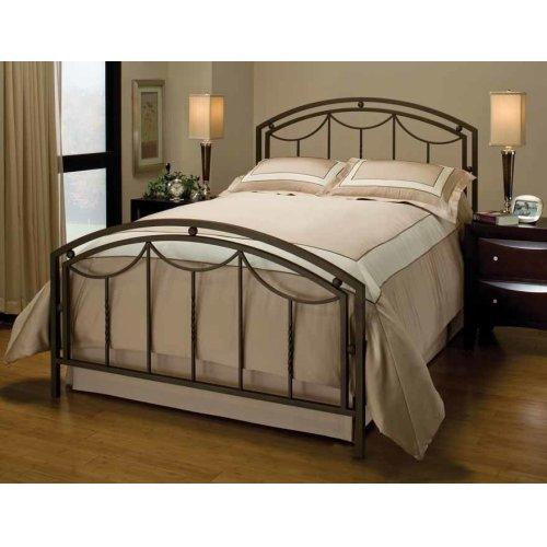 Arlington Bed Set In Bronze Metal (bed Frame Included) - Full