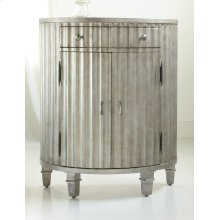 Living Room Melange Fluted Demi Chest