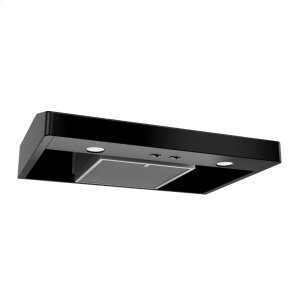 BroanTenaya 1 30-inch 250 CFM Black Under-Cabinet Range Hood with light