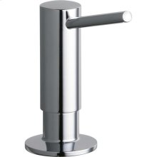"Elkay 2"" x 4-5/8"" x 3-5/8"" Soap / Lotion Dispenser, Chrome (CR)"