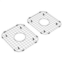 Sink Grid Set for Delancey 33-inch Double Bowl Apron Sinks  American Standard - Stainless Steel