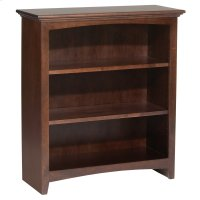 "CAF 36""H x 30""W McKenzie Alder Bookcase Product Image"