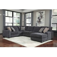 Tracling - Slate 3 Piece Sectional