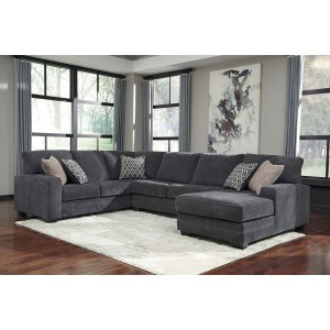 Ashley Furniture Tracling - Slate 3 Piece Sectional