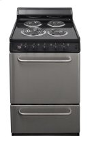 24 in. Freestanding Electric Range in Stainless Steel Product Image