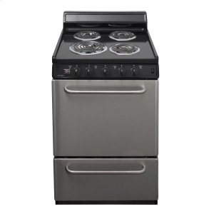 Premier24 in. Freestanding Electric Range in Stainless Steel