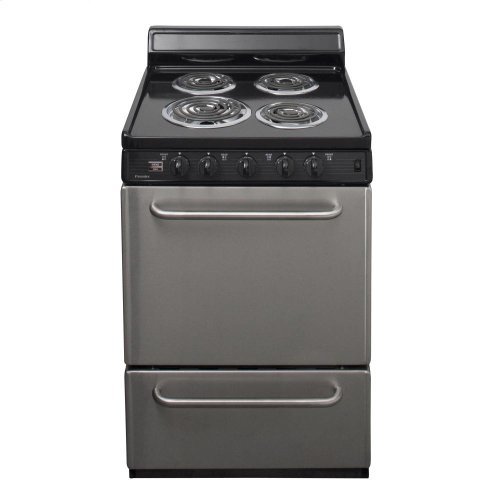 35a02564a38 24 in. Freestanding Electric Range in Stainless Steel