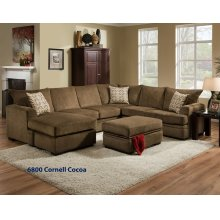 6800 - Cornell Cocoa Sectional