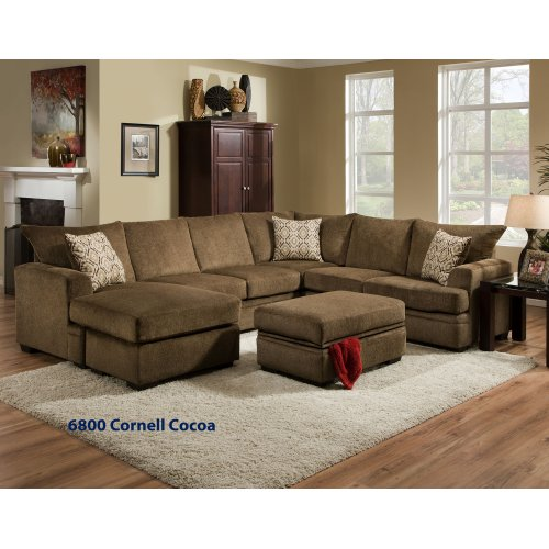 6800 - Cornell Platinum Sectional