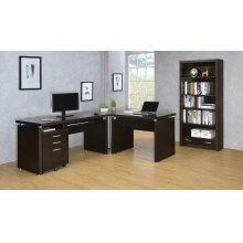 Skylar Contemporary Cappuccino Desk
