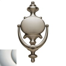Polished Nickel with Lifetime Finish Imperial Knocker