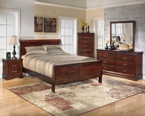Alisdair - Dark Brown 2 Piece Bedroom Set